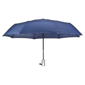 הדפסה על מטריה כחולה אוטומטית מתקפלת