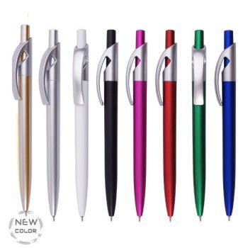עטים ממותגים עם לחצן ומילוי חוד מחט