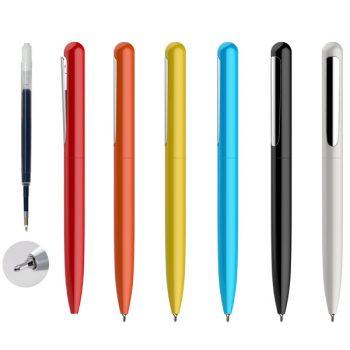 עט מתכת עם חוד מחט
