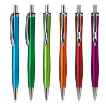 עט חוד מחט עם לוגו
